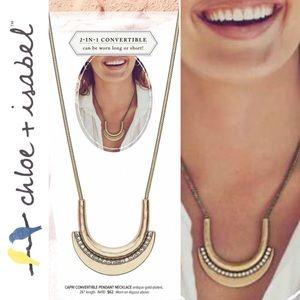 🆕 Capri Convertible Pendant Necklace c+i N410